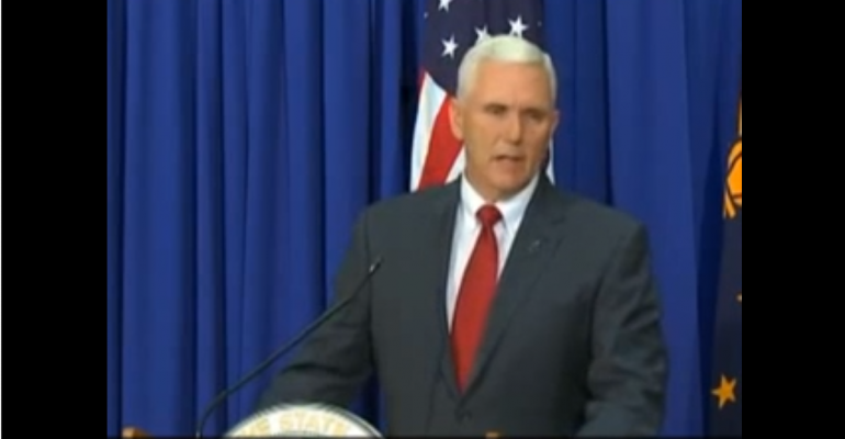 "Indiana Governor Vows to ""Fix"" Controversial Religious Freedom Restoration Act"