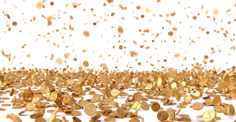Raining coins image by dimdimich on Thinkstock by Getty Images