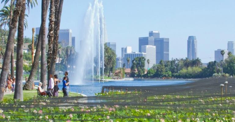 One of the sessions at the CWEA 2015 annual meeting was called quotHow a Water Quality Project Returned the Sparkle to a Los Angeles Jewelquot Echo Park Lake