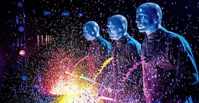 The Blue Man Group moves to Luxor Las Vegas in the fall