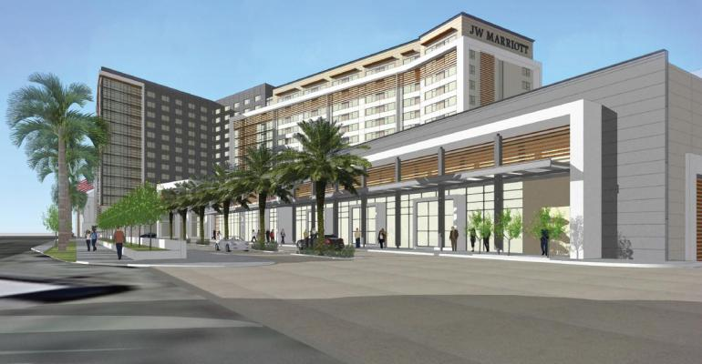 New JW Marriott Proposed for Anaheim