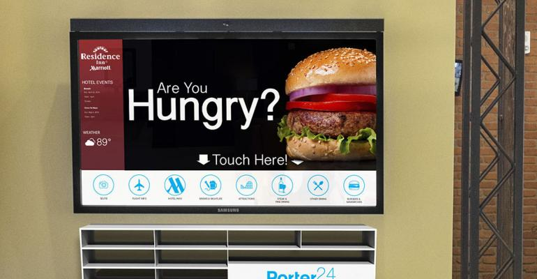 Free Touchscreen for Meeting Info, Branded Selfies