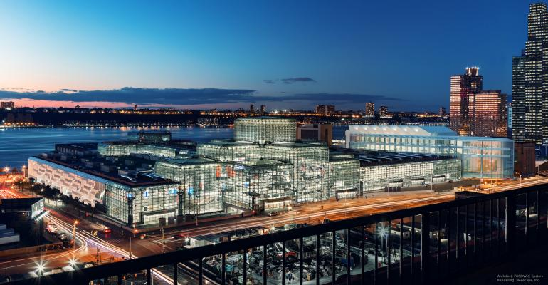 New York Aims High with Javits Expansion Plans