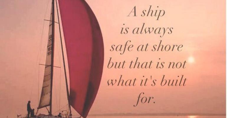 Quote A ship is always safe at shore but that is not what its built for