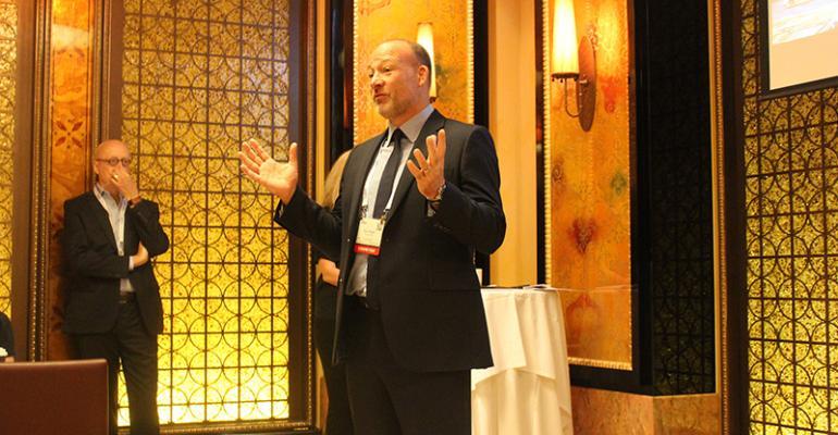 ExCel London CEO David Pegler at IMEX America 2016