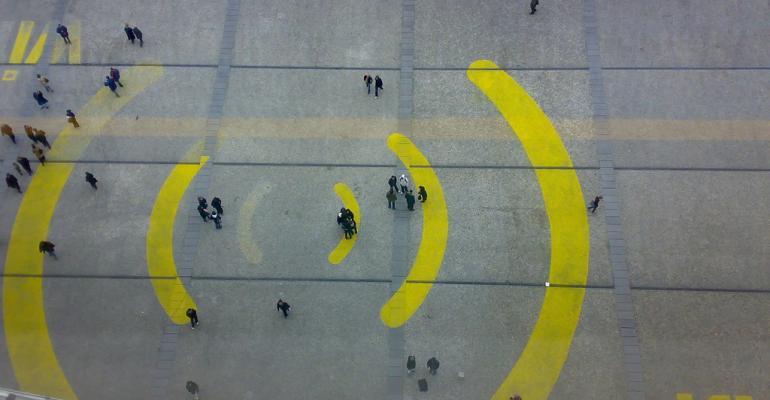 Wi-Fi Plaza painting