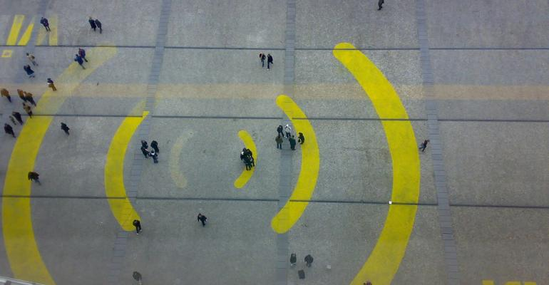 Wi-Fi Plaza painting