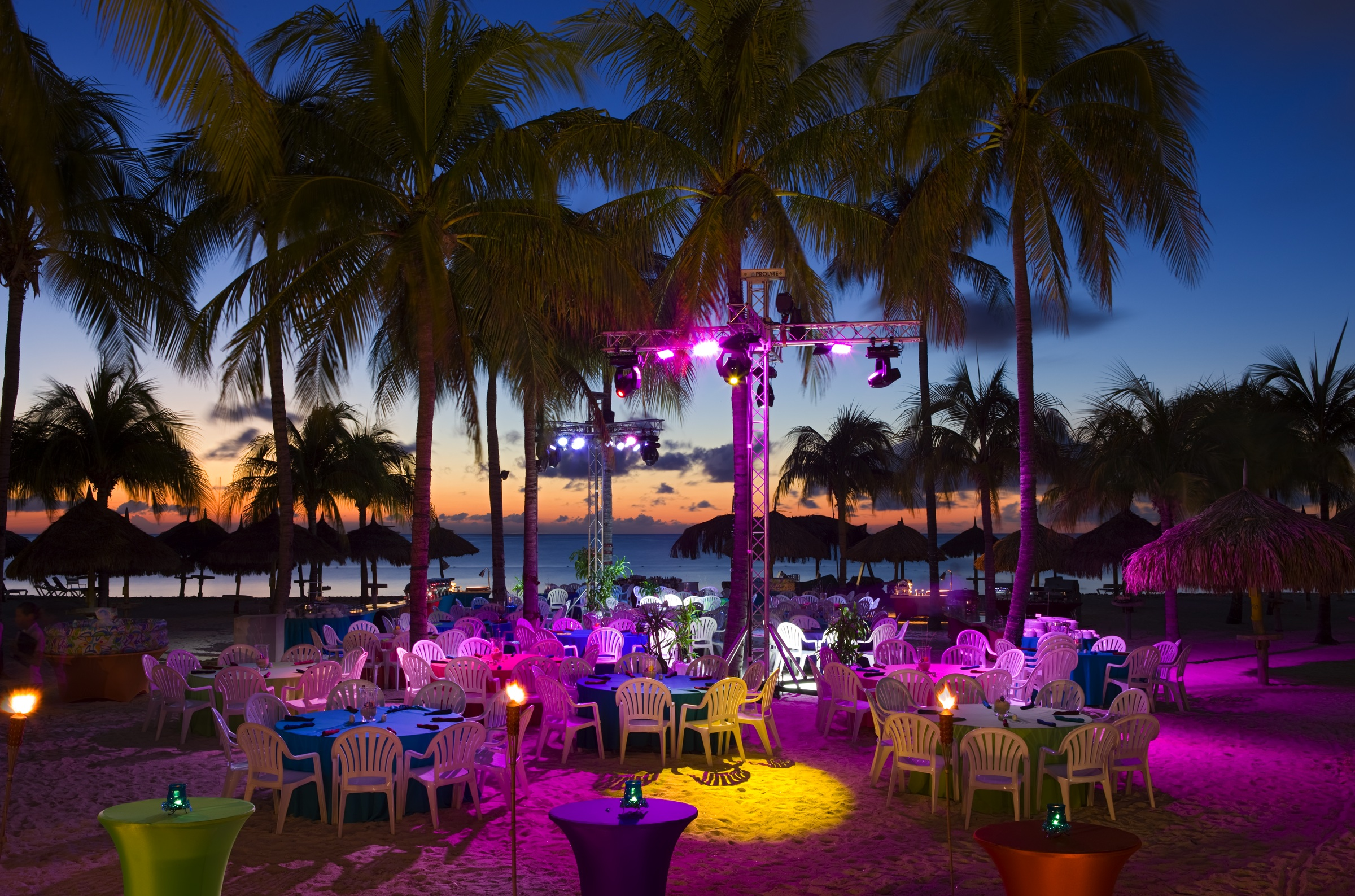 Caribbean Theme Party Ideas On Pinterest: On Location: Aruba Marriott