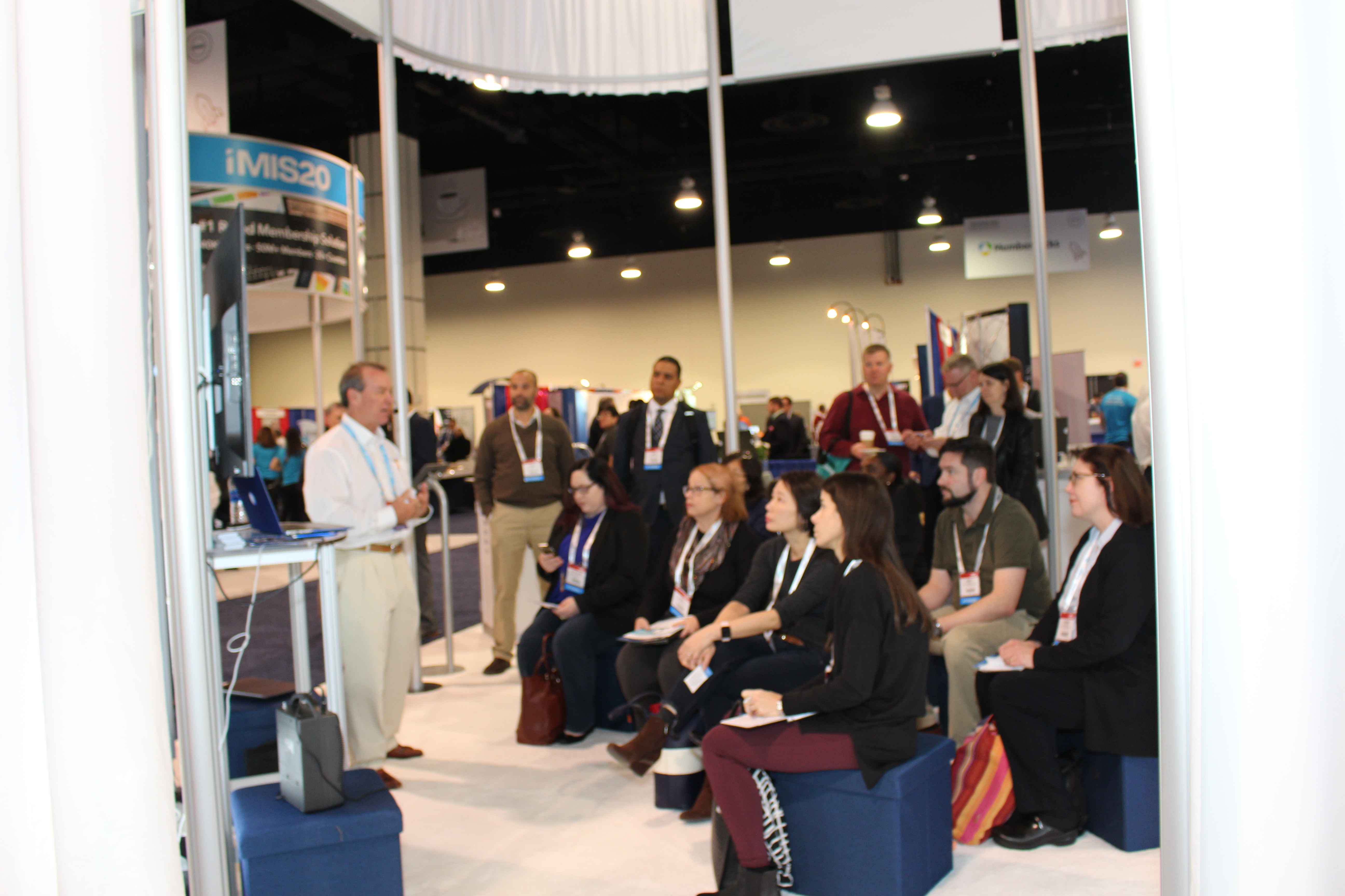 Learning on the show floor at ASAE's 2017 Technology Conference