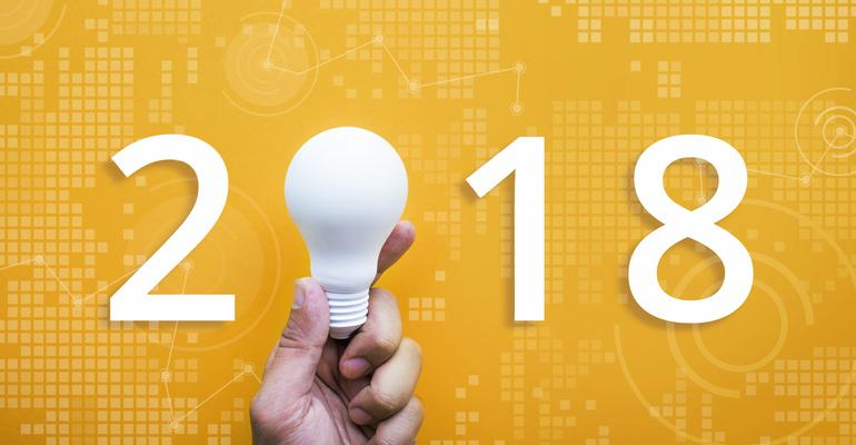 Lightbulb ideas in 2018