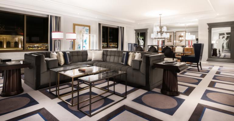 Caesars Tower Living Room