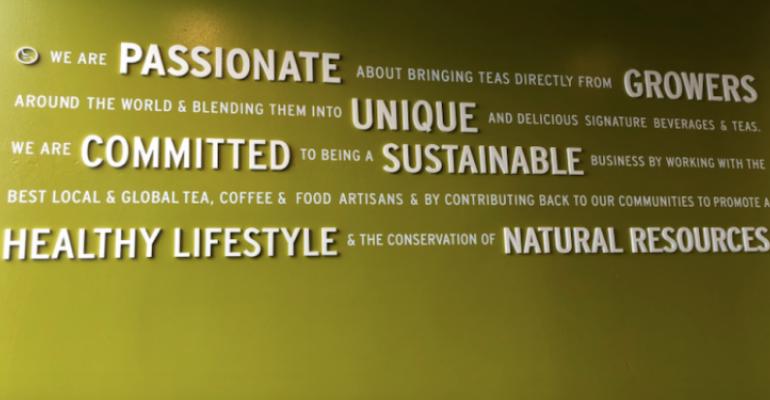 Argo Tea Mission Statement