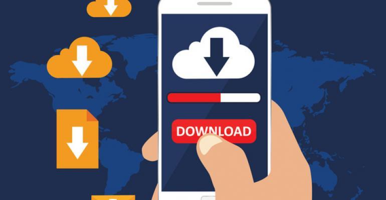 phone downloading app