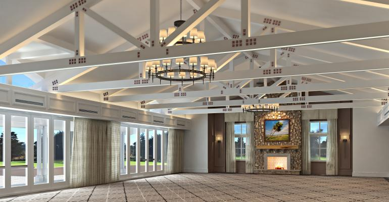 Fairway One Meeting Room at the Lodge at Pebble Beach