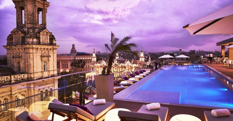 Gran Hotel Manzana Kempinski, Hanava, Cuba