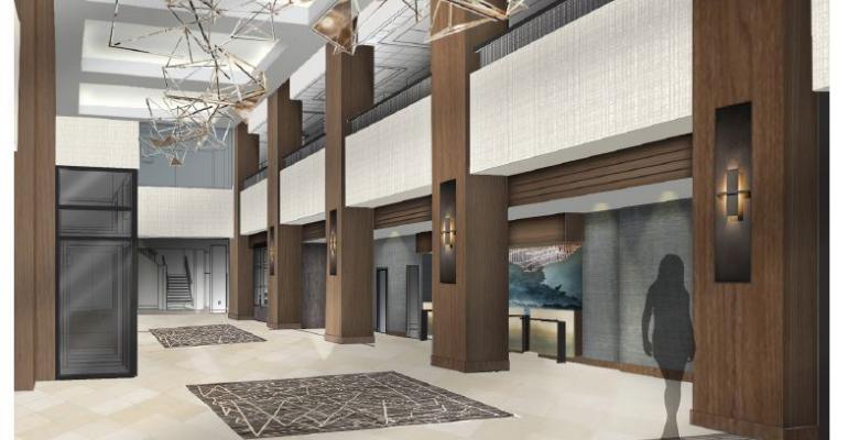 Marriott Winston-Salem lobby