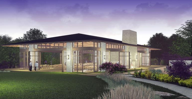Omni Barton Creek rendering of new pavilion
