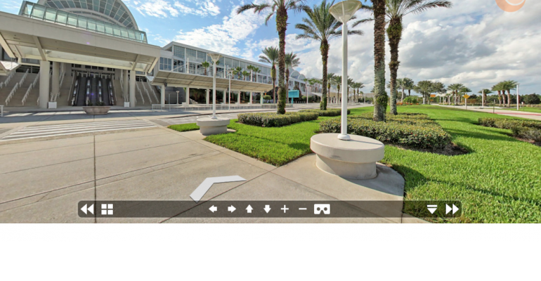 Orlandos Orange County Convention Center Launches VR D Map - Orange county convention center map