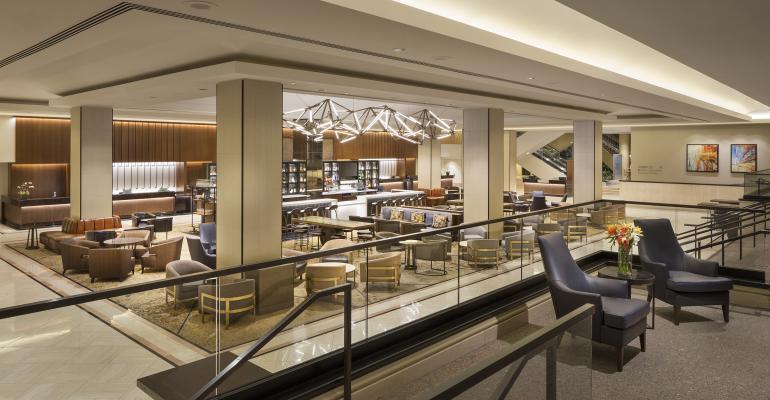 Hilton Union Square lobby