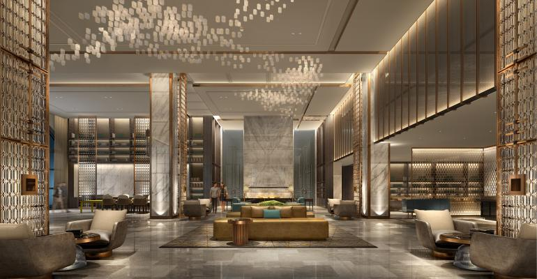 Coming to this fall sheraton los angeles san gabriel for Design luxushotel dubai