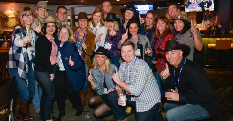 FICP attendees dressed the part for an evening in Nashville