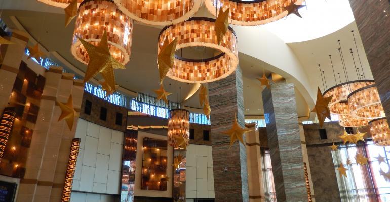 Foxwoods lobby