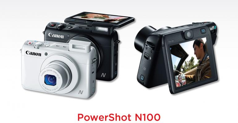 A Canon PowerShot N100 For that special speaker in your life