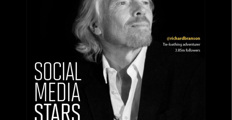 Social Media Influencers: Richard Branson Tops Our List of Online Stars
