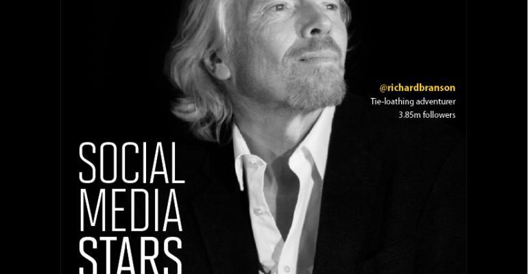 Social Media Influencers: Richard Branson Tops Our List of Online Stars