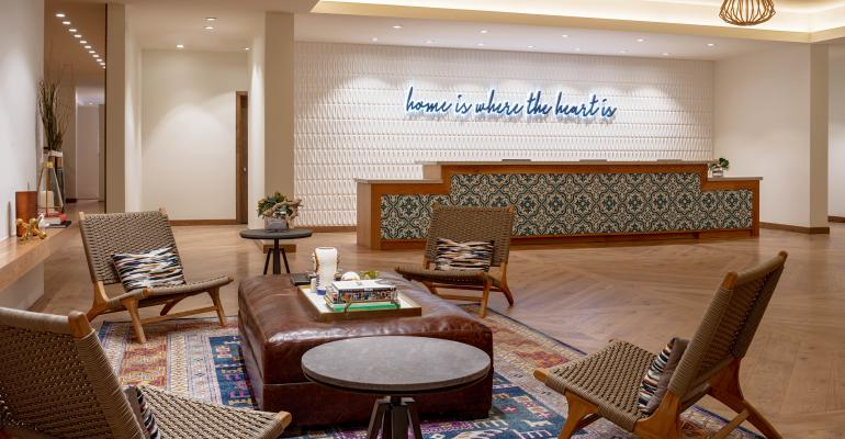 Hotel Adeline lobby