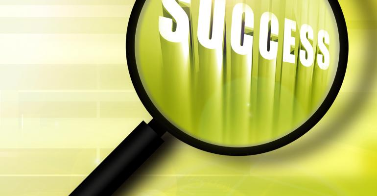 """success"" under a magnifying glass"