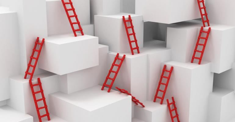 ladders and blocks