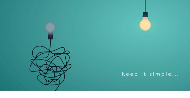Lightbulbs with tangled and untangled cords