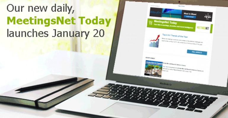 MeetingsNet Today Newsletter