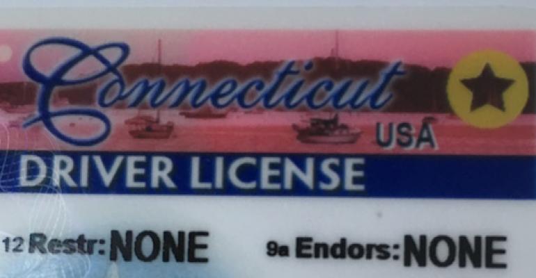 Driver's license star
