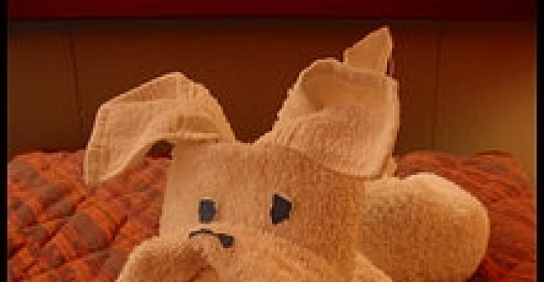 Towel origami, anyone?