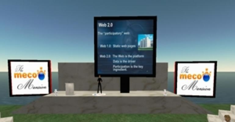 MeCo Hosts First Chat Lesson in Second Life