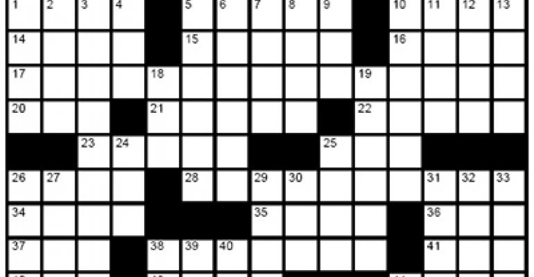 Crossword - Jan/Feb 2009