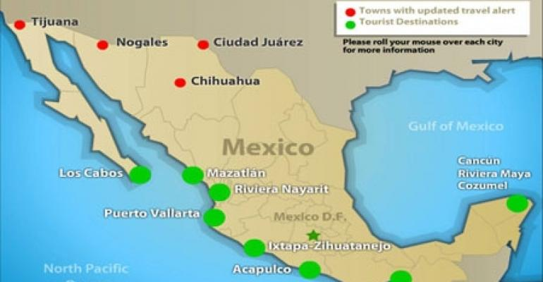 Travel to Mexico on the Rise, Perception Challenges Remain