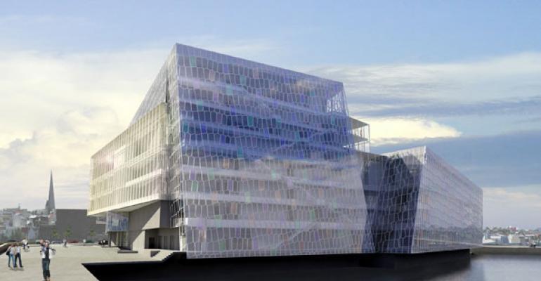 Harpa Concert Hall and Concert Centre in Reykjavik