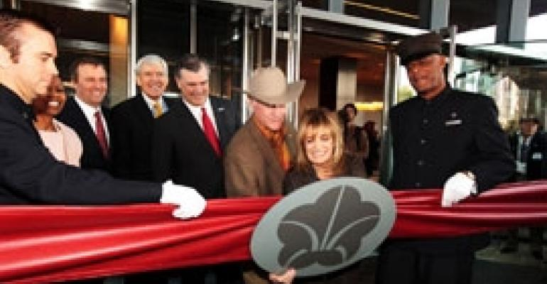 Omni Dallas Opens With Star-Studded Ceremony