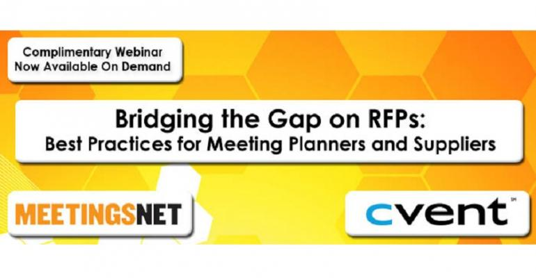 Bridging the Gap on RFPs: Best Practices for Meeting Planners and Suppliers