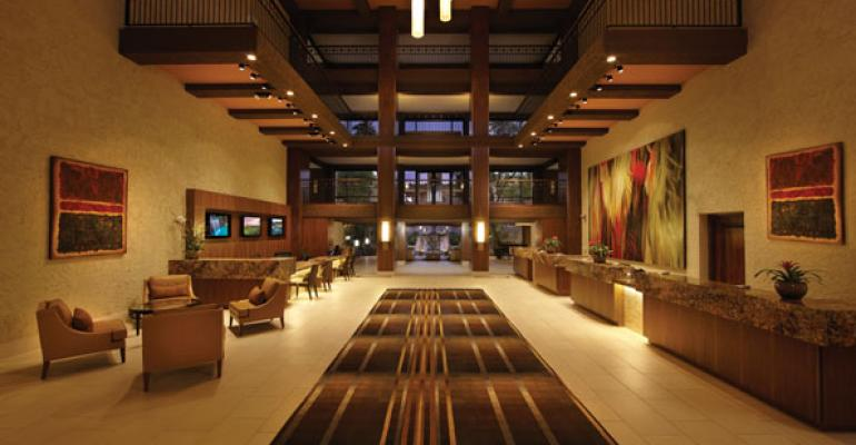 The Pointe Hilton Squaw Peak Resort39s redesigned lobby