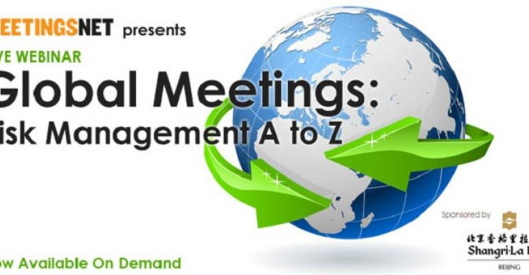 Global Meetings: Risk Management A to Z