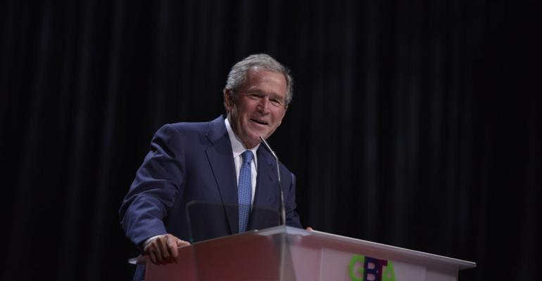 President George W Bush at GBTA