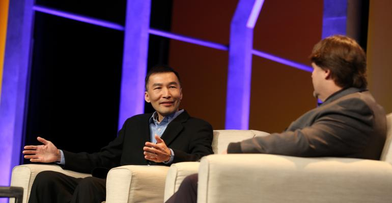 Conference keynoter Eric Ly cofounder of LinkedIn and CEO of Presdo was part of the virtual Town Hall