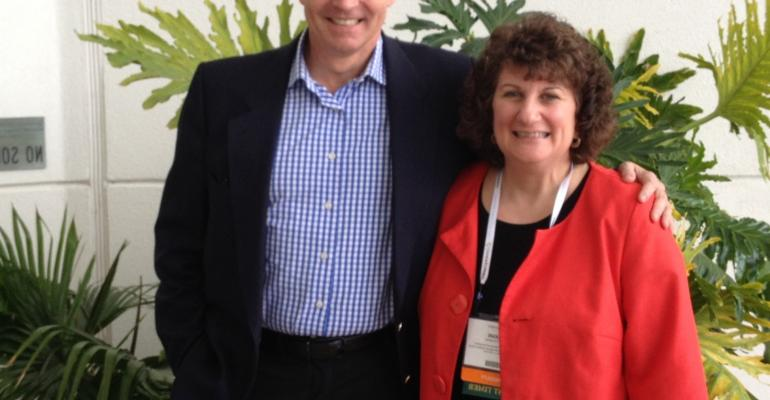 Rick Naylor and Joanne Klinedinst