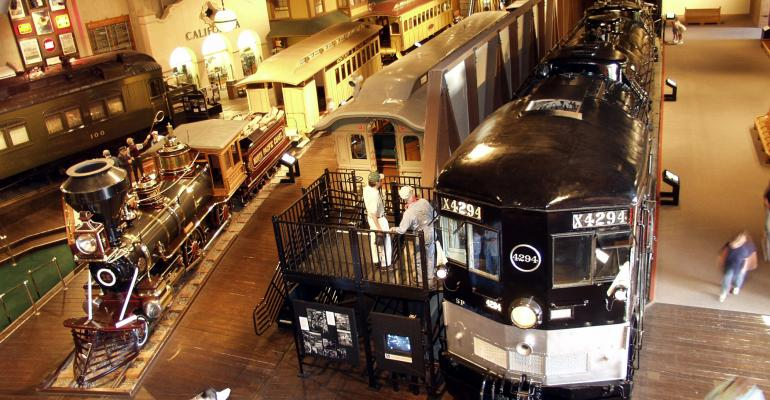 The California State Railroad Museum in Sacramento hosts the opening reception at RCMA39s Emerge
