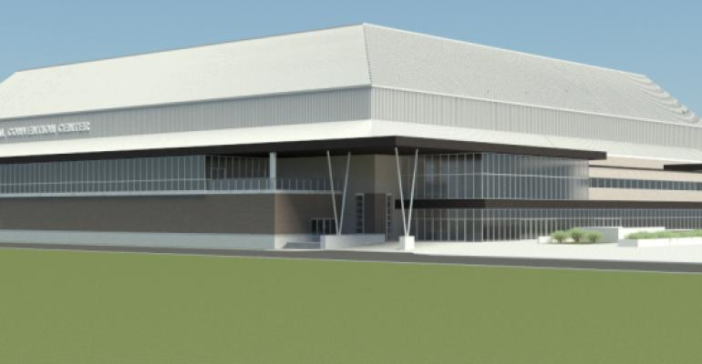 Rendering of the renovated Prairie Capital Convention Center in Springfield Ill