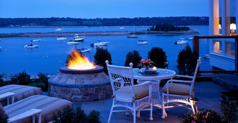 On Location: Pamper Your Group, Evoke the Spirit of the Sea at Cape Cod's Wequassett